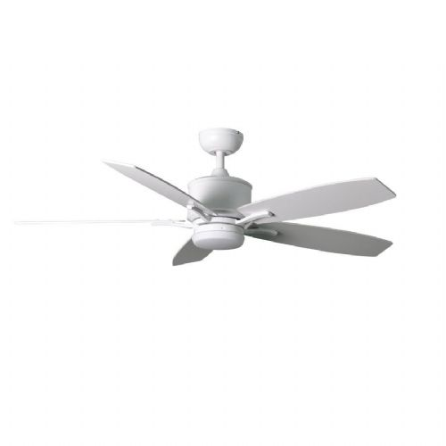 "Fantasia Prima Elite LED 52"" White Ceiling Fan + Remote 117162"